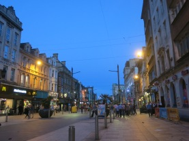Cardiff by Night